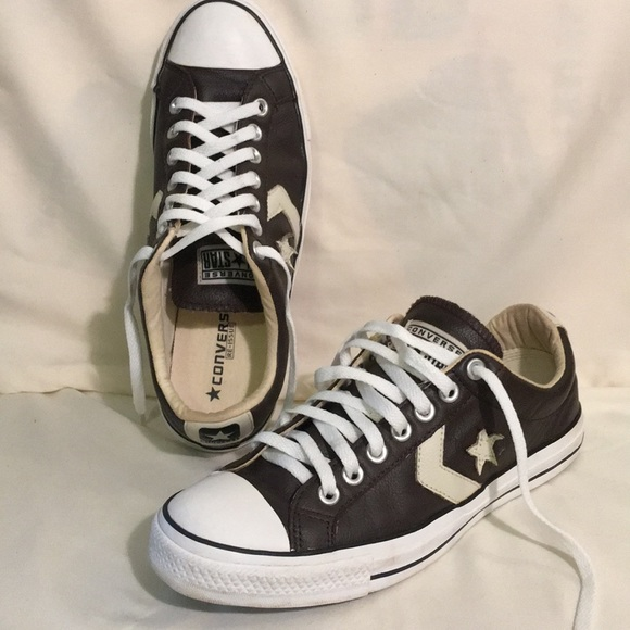 Converse All Star Keds Shoe Leather